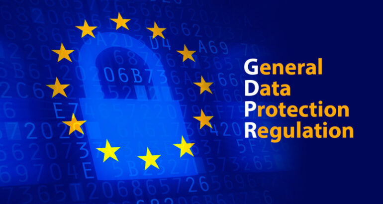 General Data Protection Regulation - UE 2016/679